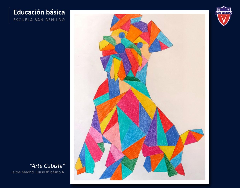 Jaime Madrid 8°básico A, Arte Cubista